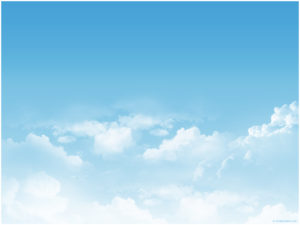 Bluesky clouds backdrop